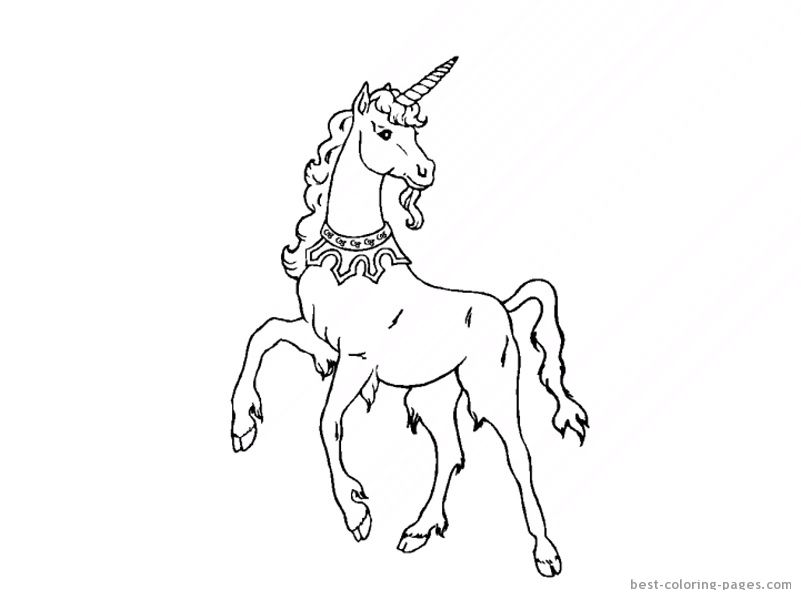 princess horses coloring pages - photo#26