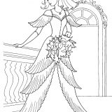 princess-in-her-wedding-dress-coloring-page