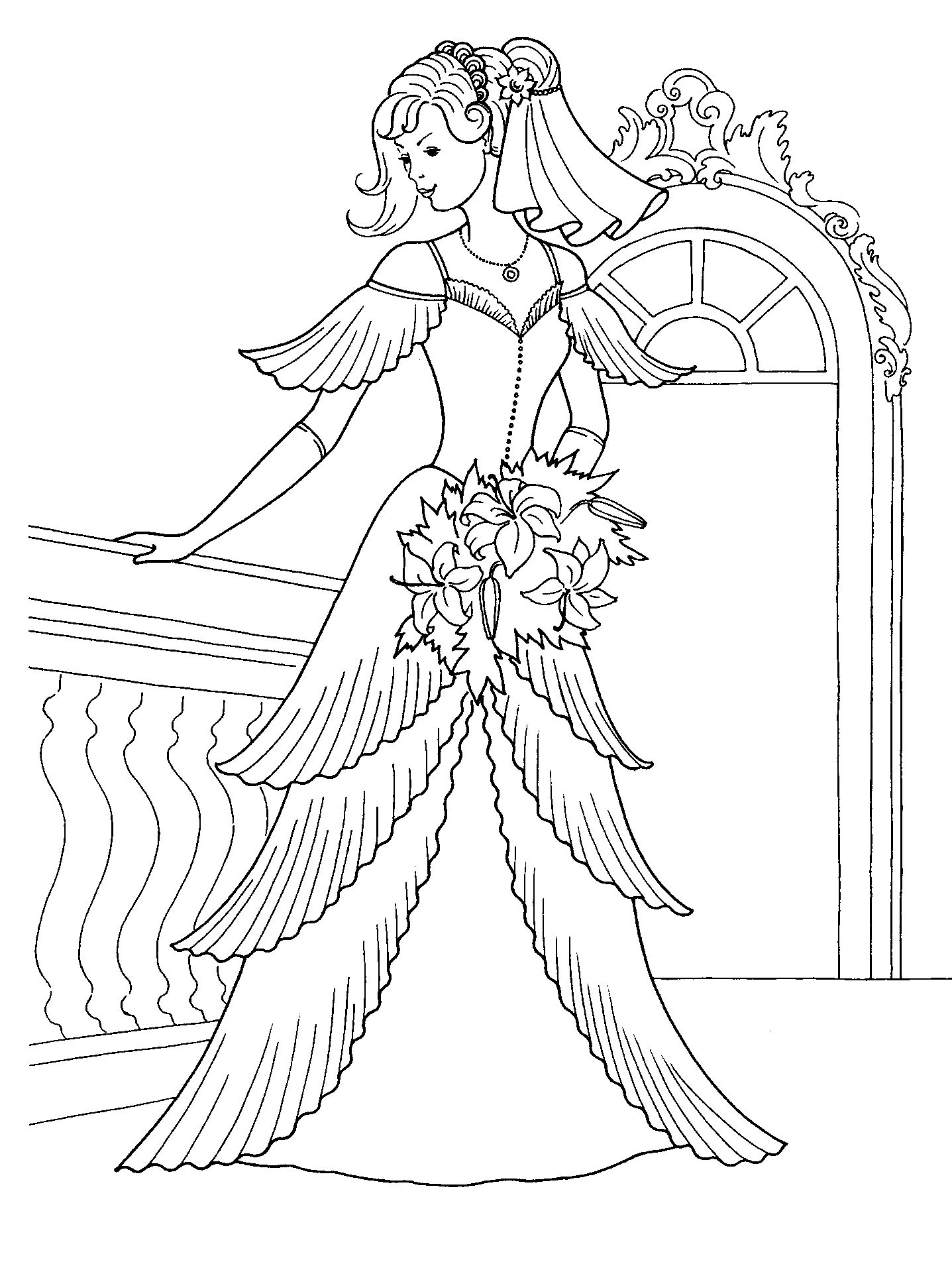 Princess Pictures Coloring Pages Coloring Pages Princess Dress Coloring Pages Free Coloring Sheets