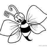 pszczoly-insekty-kolorowanki-do-wydrukowania (1)