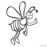 pszczoly-insekty-kolorowanki-do-wydrukowania (4)