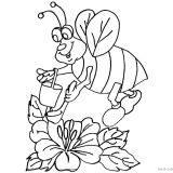 pszczoly-insekty-kolorowanki-do-wydrukowania (6)