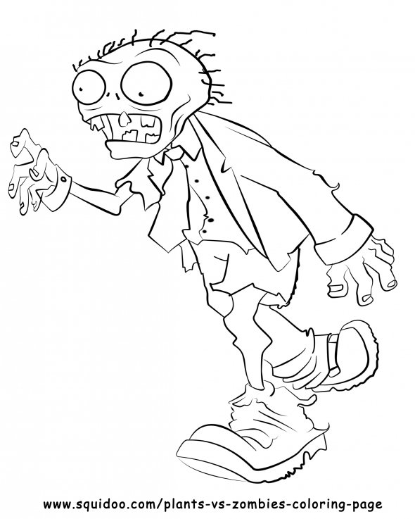 Plants Vs Zombies Chomper Coloring Pages Coloring Pages Plant Vs Zombies Coloring Pages