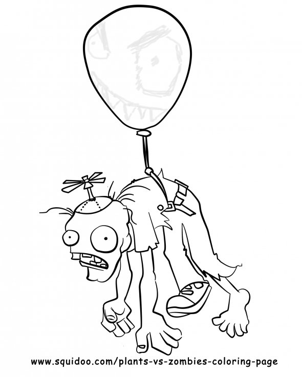 pvz garden warfare coloring pages - photo#17