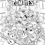 rosliny kontra zombie kolorowanka (2)