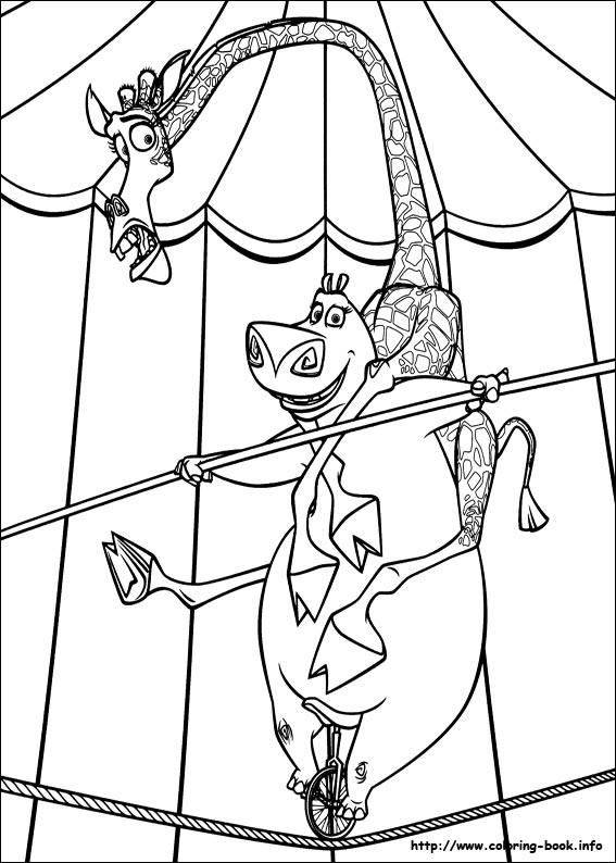 Free king julien madagascar coloring pages for King julian coloring pages