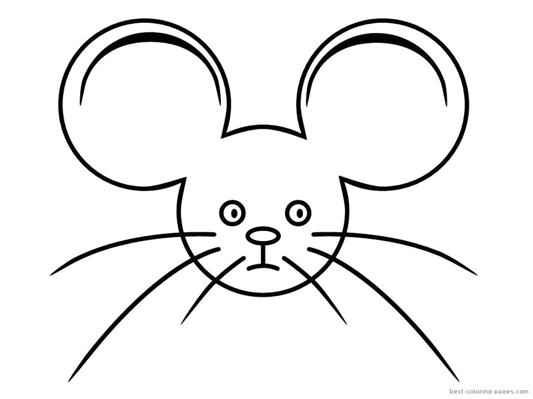 Myszka Jez Kolorowanki Do Druku 2 Fd