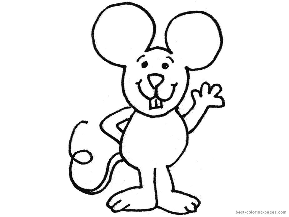 Myszka Jez Kolorowanki Do Druku 5 Fd