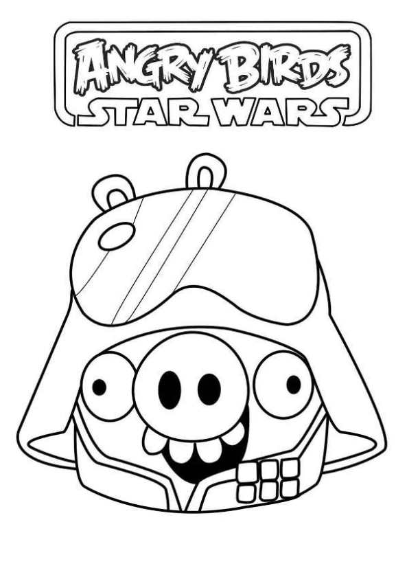 Star Wars Pig Angry Birds Fd