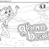Monster High Clawdeen Gloom Beach_1