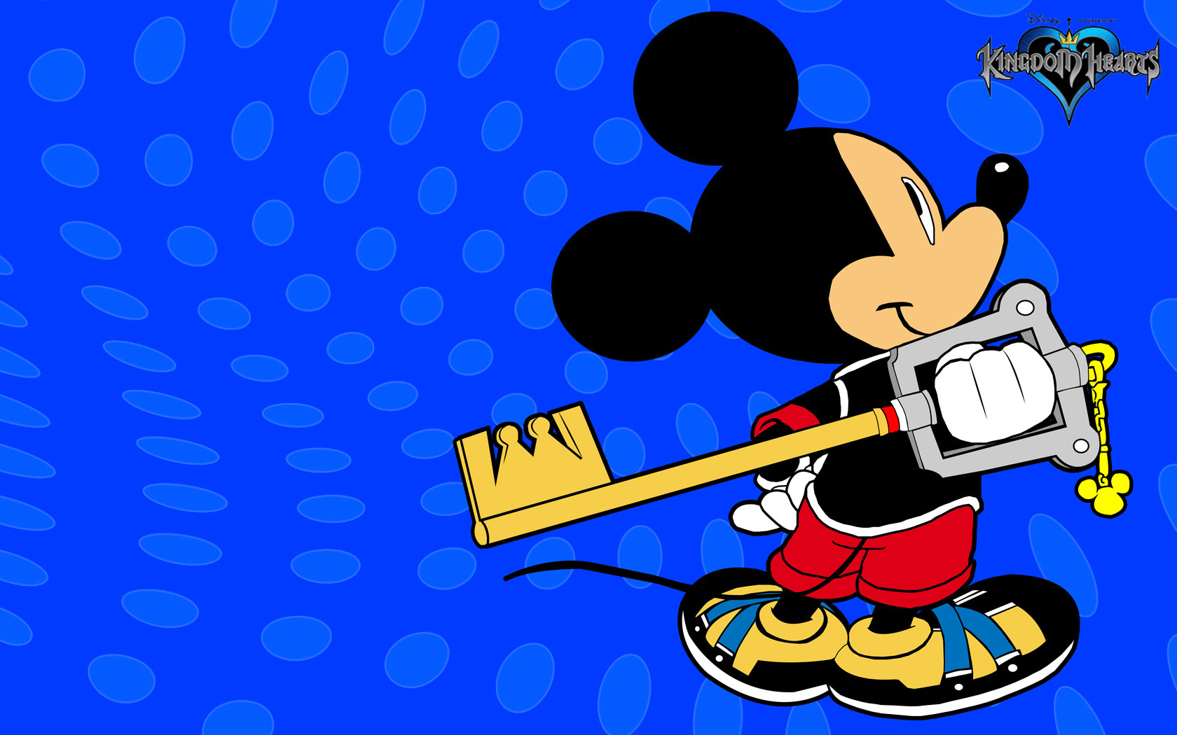 """""""Mickey Mouse Blue Wallpaper"""" — card from user lobankowa2018 in Yandex.Collections"""