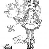 Monster High do wydrukowania