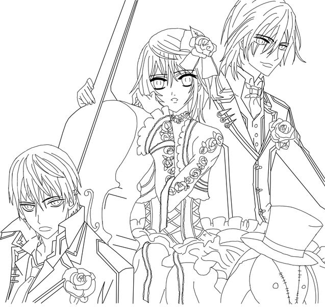 coloring pages of male vampires - photo#10