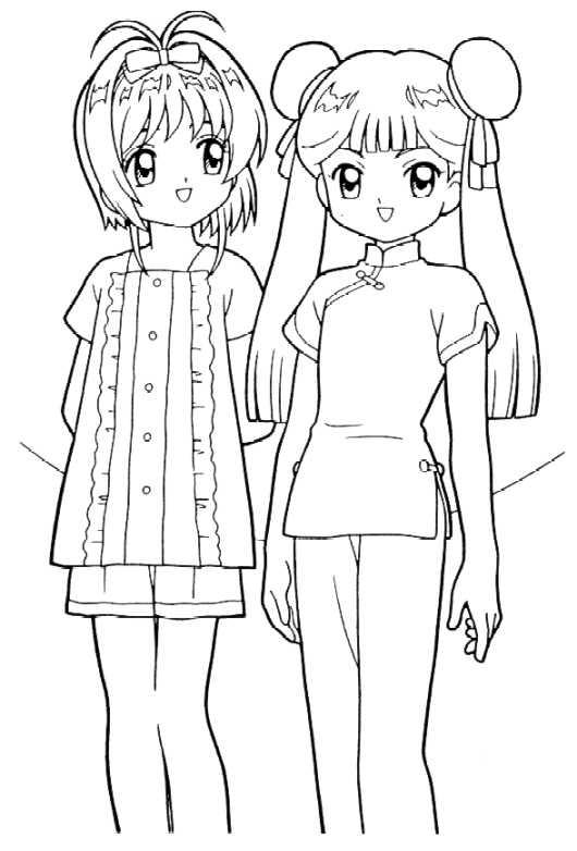 Manga Anime Kolorowanki 34 Fd