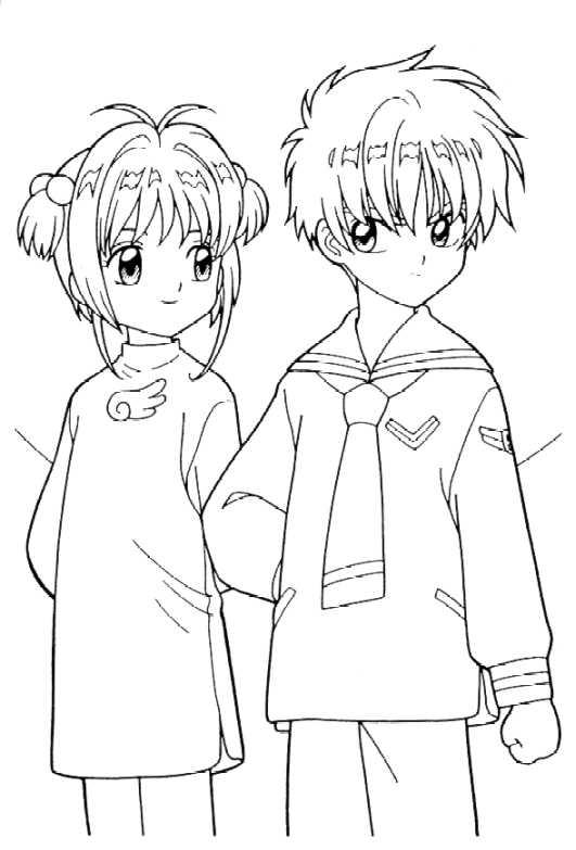 Manga Anime Kolorowanki 36 Fd