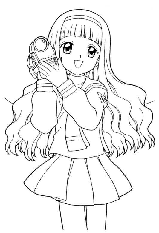 Manga Kolorowanki Do Druku Fd