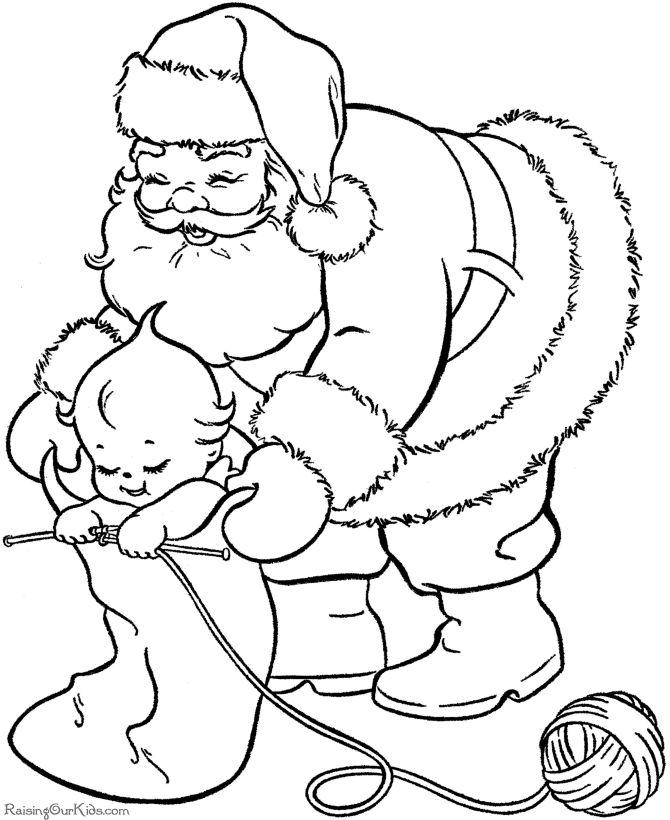 Kolorowanki Komiksy Do Druku Za Darmo Dla Dzieci I: Kolorowanki-do-druku-swieta-mikolaj (12)