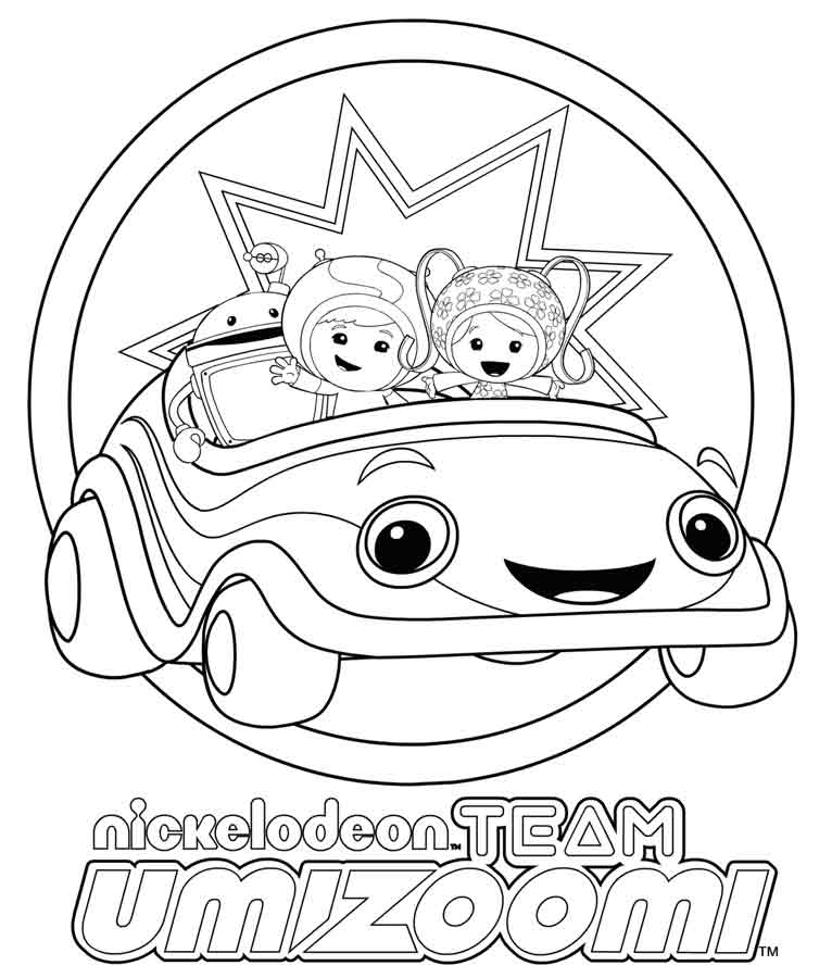 team umizoomi coloring pages to print - umi zooms colouring pages
