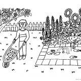 ogród kolorowanki