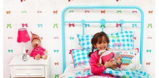 Metalowe łóżko dla dziecka