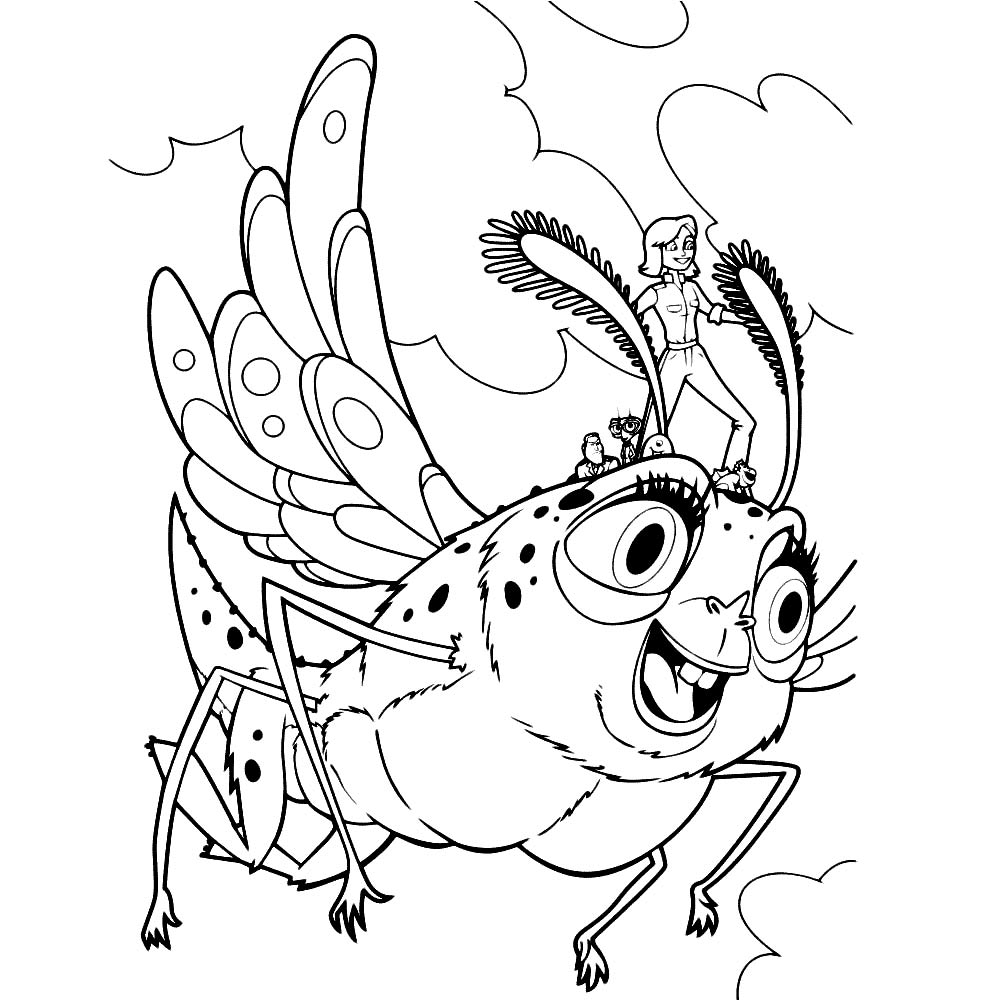 ginormica coloring pages - photo#18