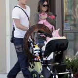 Exclusive: Cam Gigandet And Family Out Shopping In Santa Monica