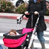 Alyson Hannigan & Her Family Enjoys Clear Skies In LA!