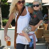 Tori Spelling Is Dwarfed By Her Growing Son!
