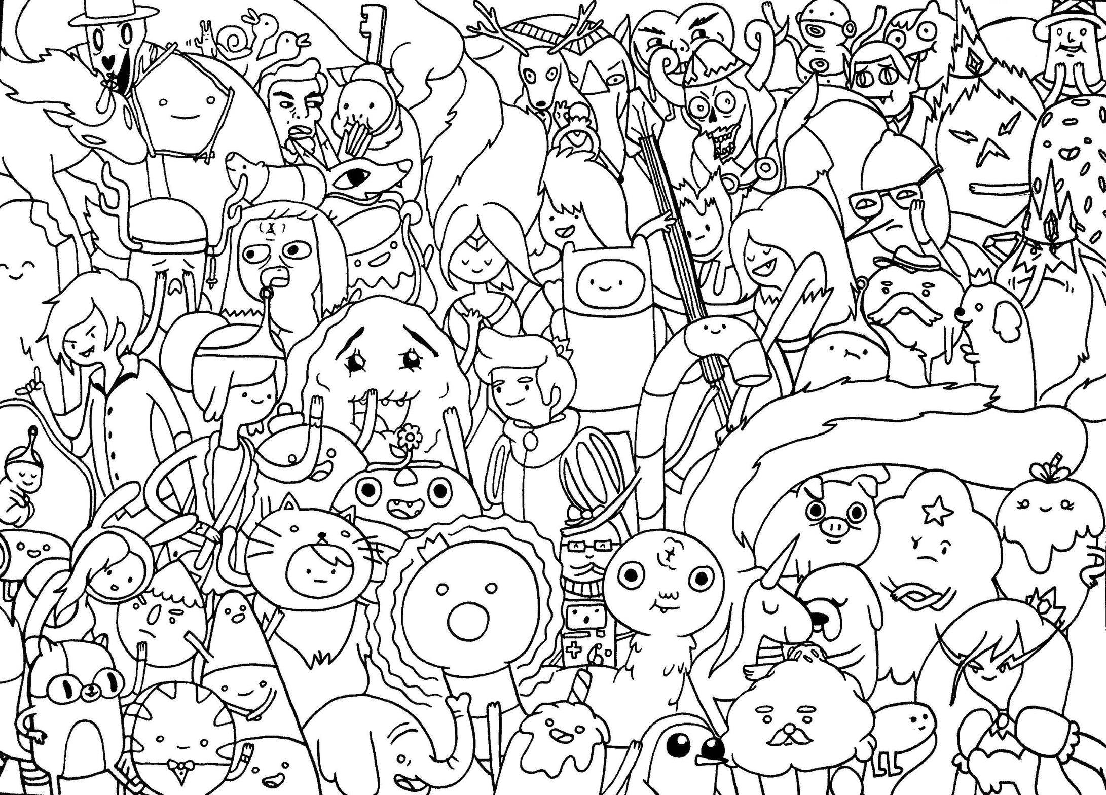 fiona adventure time coloring pages - photo#35