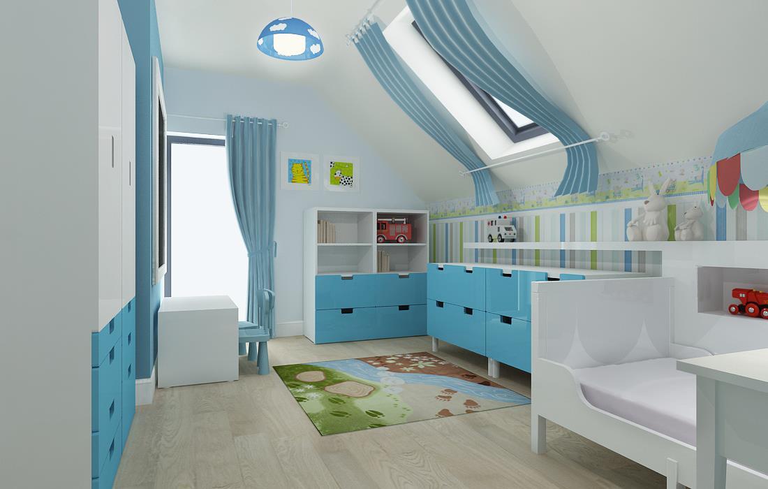 pok j dla ch opca fd. Black Bedroom Furniture Sets. Home Design Ideas