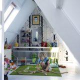 Pokój dla dziecka na poddaszu