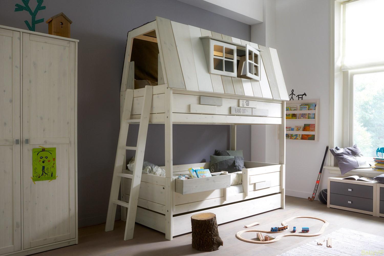 Amazoncom American Furniture Alliance Locker Twin Over