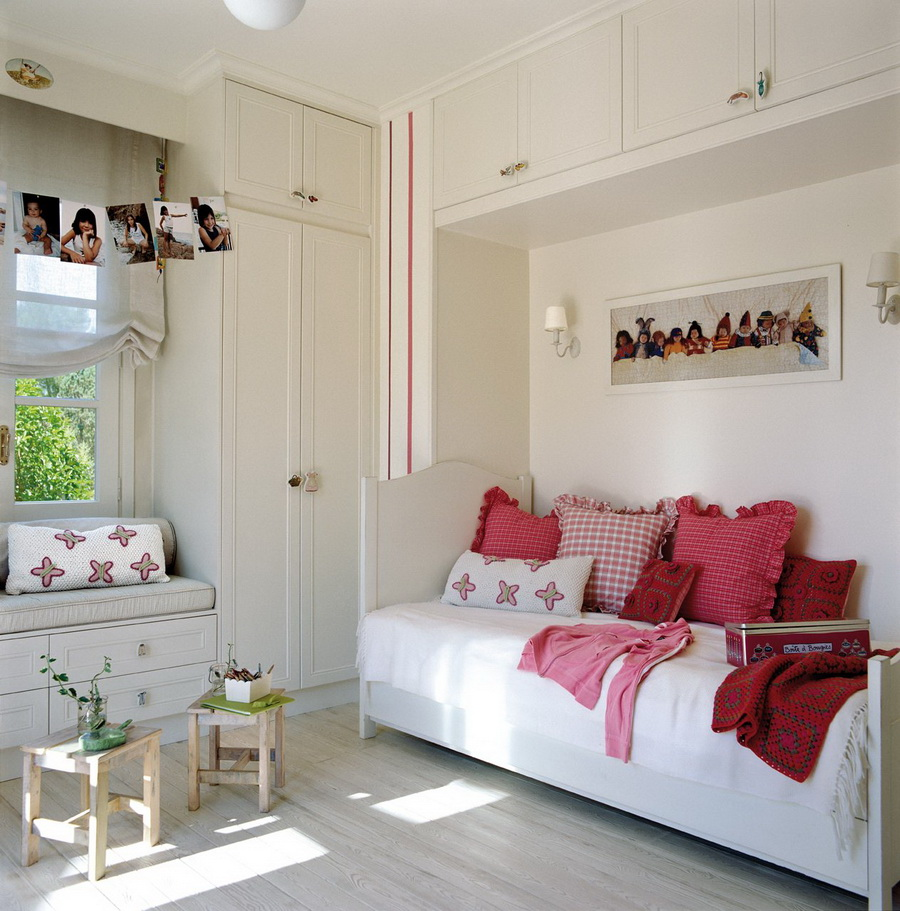 Pok j dla dziewczynki fd - Decoracion en pintura para dormitorios ...