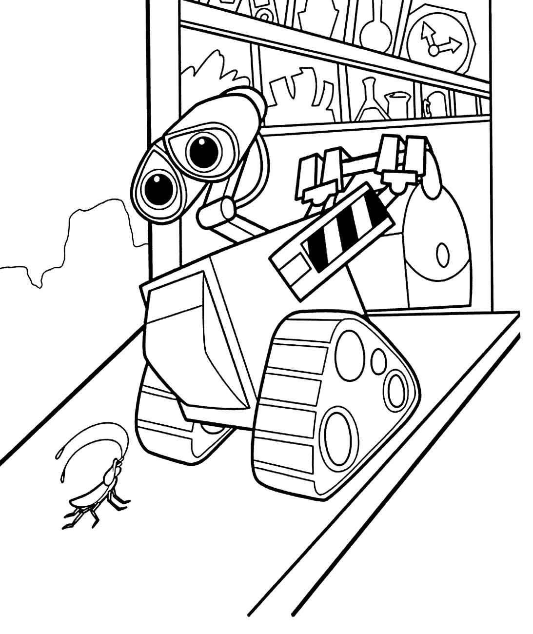 Kolorowanki Roboty 11 Fd