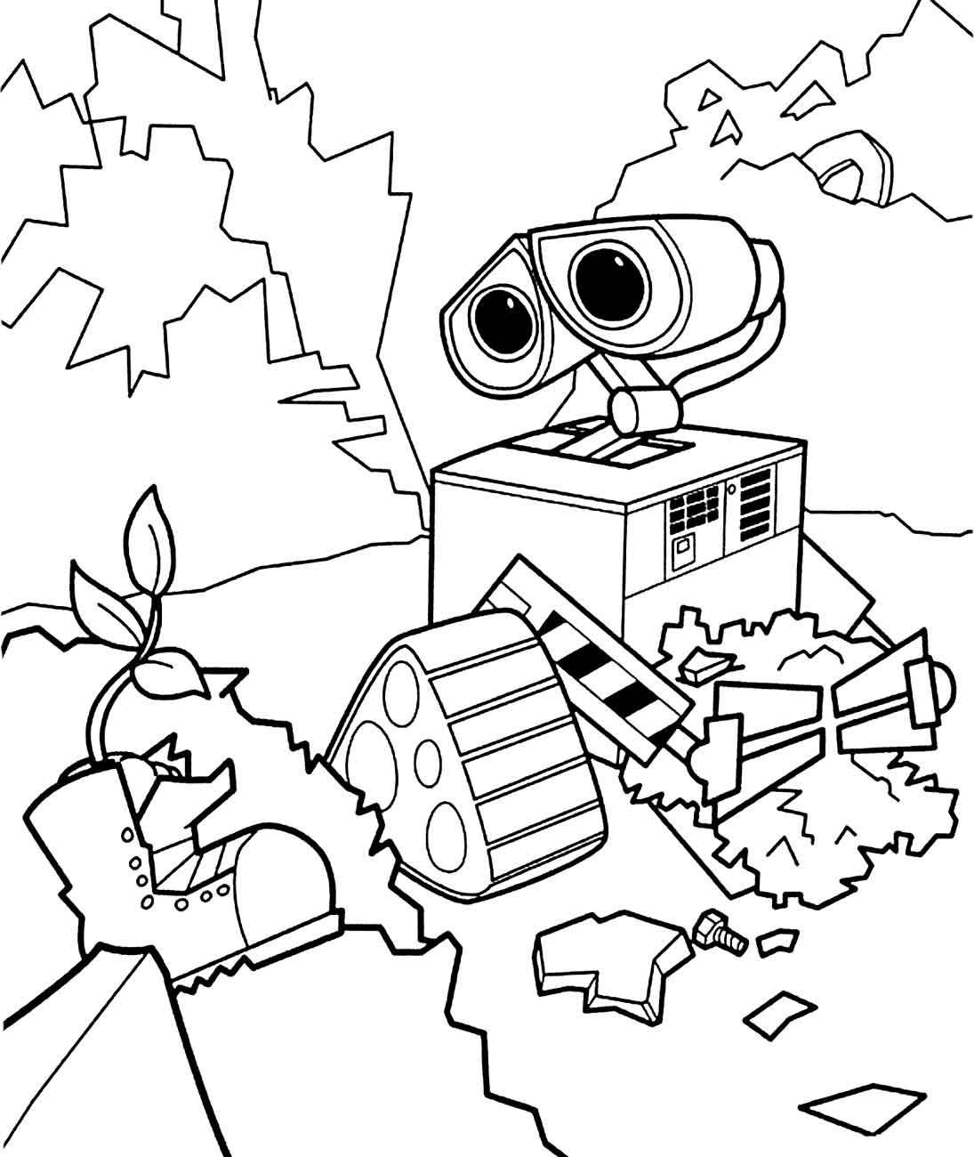 Kolorowanki Roboty 18 Fd