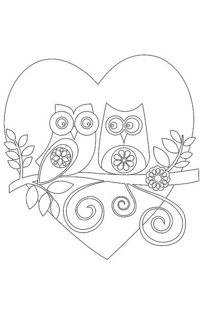 Sowy kolorowanki do wydrukowania fd for Cute coloring pages of owls
