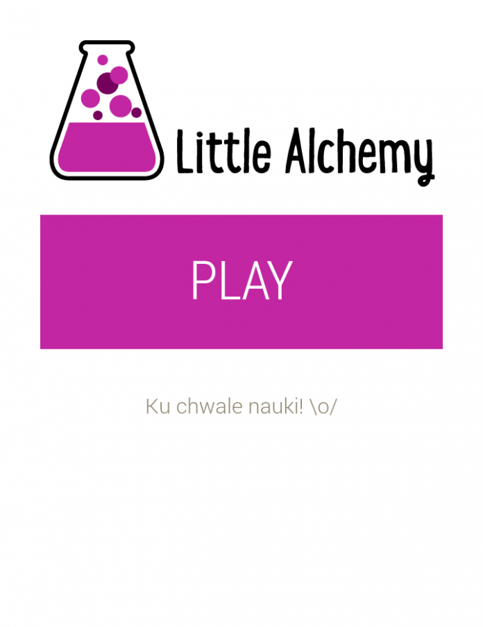Little Alchemy - Start
