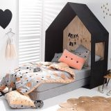 Łóżko jak domek