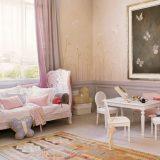 Pastelowe pokoje dla dzieci
