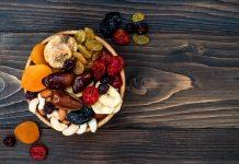 Miska suszonych owoców