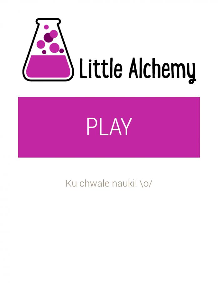 Little Alchemy - Start