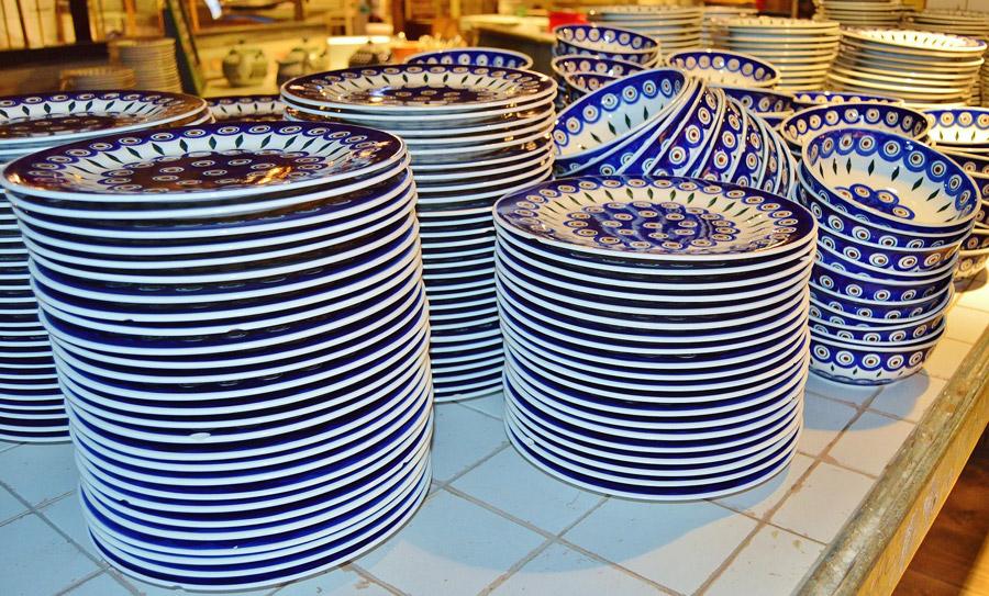 talerze-ceramika-boleslawiec