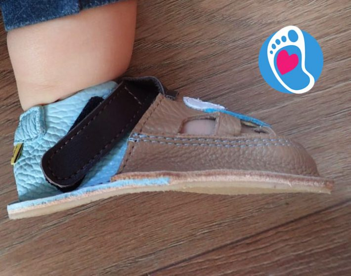 Sandały dziecięce typu barefoot (producent Tikki), wspierające zdrowy rozwój organizmu  Sklep Bosa Stópka